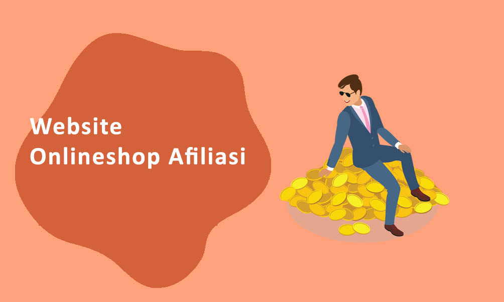 Website Onlineshop Afiliasi