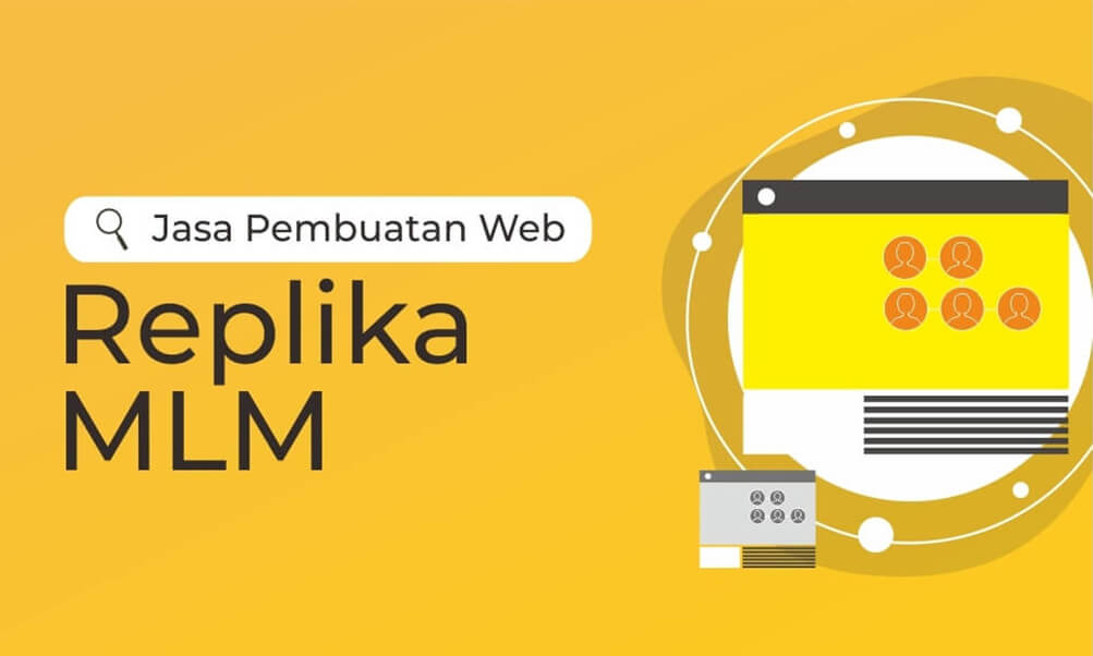 Jasa Pembuatan Web Replika / Web Support MLM