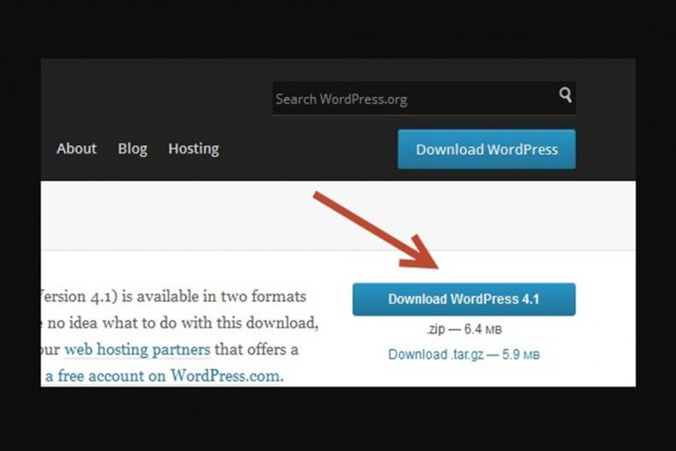 Cara Download Aplikasi WordPress