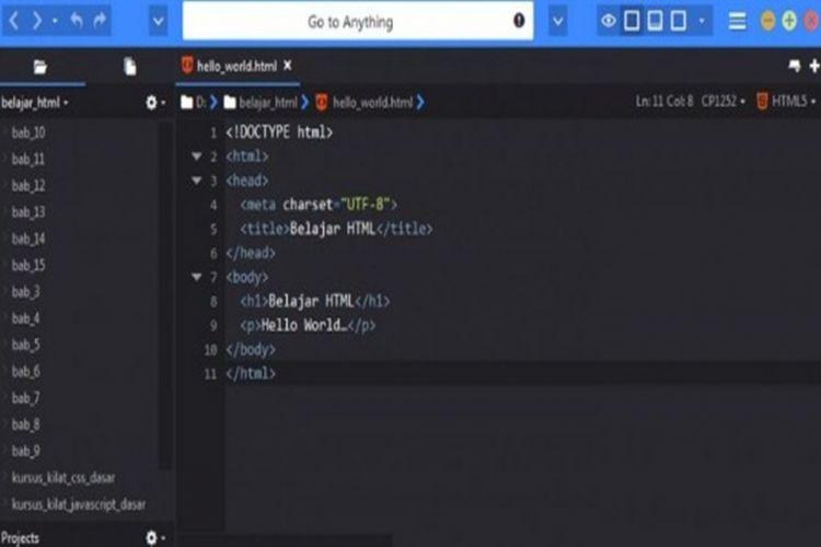 Text Editor Komodo Edit