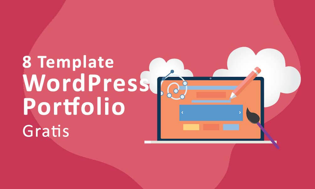 8 Template WordPress Portfolio Gratis Terbaru